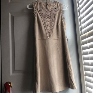 Brand New Suede Altar'd State Dress